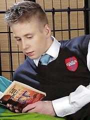 Raw: Horny homework for hard-dicked boys