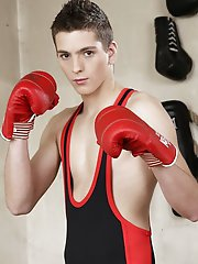 Sportladz: Hot Twink Gets Fucked All Around The Ring By Hunky Rival!