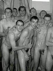 Amateur boyfriends next door posing at home