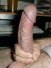 Naked Guy Show Off His Uncut Dick